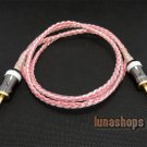 3.5mm Male to M Silver Plated + Pailiccs adapter Handmade hifi Cable for Car AUX