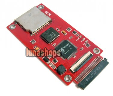 """SD SDHC MMC Card To ZIF CE IDE 1.8"""" Converter Adapter"""