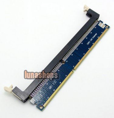 DDR3 Desktop memory card male To female Extend Protection Adapter