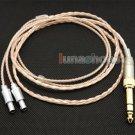 C8 6.5mm 3.5mm Pure 99.777% 8n OCC Cable For Senheiser HD800 Headphone Earphone