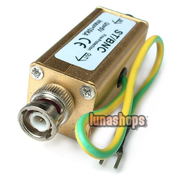 C8 CCTV Video BNC Male to Female COAX Surge Protector Thunder Arrester