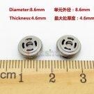 C8 2pcs 8.6mm Speaker Unit For Earphone Headset Repair Update DIY Custom