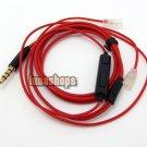 C8 1.2m Handmade DIY Cable + Remote For Senheiser IE8 IE80 earphone headset