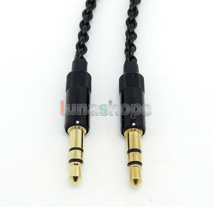 C8 3.5mm Male Earphone DIY 4*18 OFC wire cable For Monster Beats Studio Solo HD