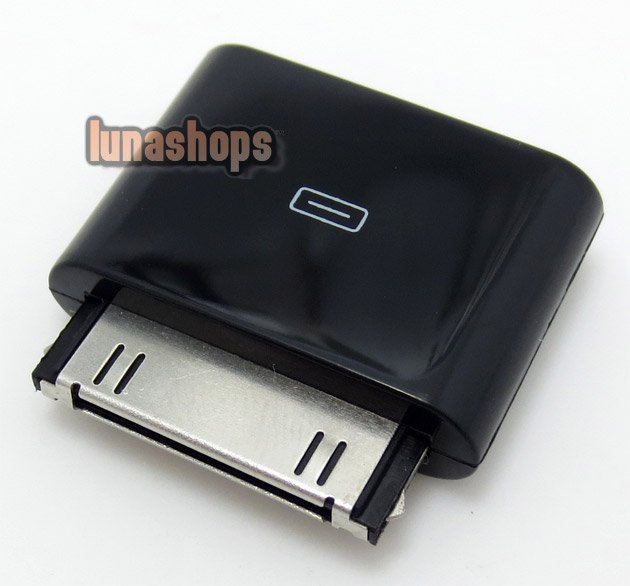 C8 1pcs LO line out dock Adapter with 3.5mm Female Port jack for iphone 4s ipod