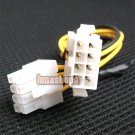 C8 Video Card 8 Pin Male to 8 Pin Female Power Cable Adapter