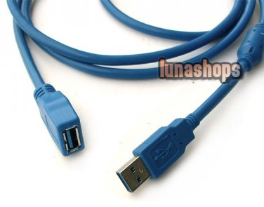 C8 1.8m USB 3.0 Extension Cable For Asus tf201 Card Surface pro RT 3 Hradrive
