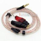 C0 5N OFC Soft Skin Earphone Cable For Sennheiser HD580 HD650 HD600 Headphone
