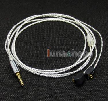 C0 Hifi 1.3m Silver Plated Earphone Cable For Etymotic ER4B ER4PT ER4S ER6I etc