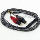 C0 3.5mm 5N OFC Cable With Mic For Sennheiser HD650 HD600 HD580 HD565 Headphone