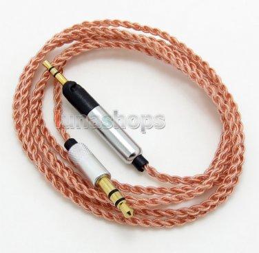 C0 1.2m 5N OCC Cable For Sennheiser HD6 HD7 HD8 HD6 MIX DJ Headphone Earphone