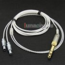C0 6.5mm 3.5mm PCOCC + Pure Silver Plated Cable for Sennheiser HD800 Headphone