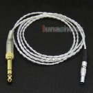 C0 Silver Plated + 4N OCC Earphone Cable For AKG K812 Reference Headphone Headse