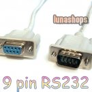 RS232 DB9 9 Pin Converter Adapter Extension Cable