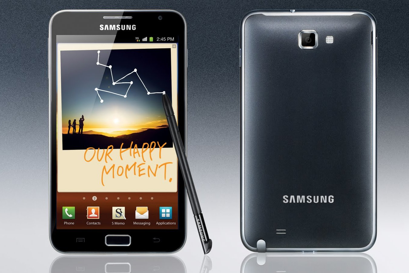 "BRAND NEW Samsung Galaxy NOTE! AMAZING PRICE! EU MODEL! HUGE 5.3"" SUPER AMOLED SCREEN!"