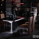 Armani Black High Gloss Dining Table