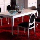 Armani White Lacquer Dining Table