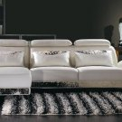 Cowhide Modern Sectional Sofa