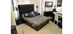 Glam Black - Armani Xavira Collection Bed