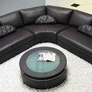 Modern Contemporary Black Sectional Sofa