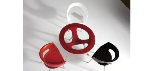 Modern Red Dining Table Set