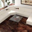 Modern White sectional sofa set