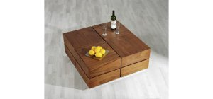 """Modern Wooden Coffee Table""""Polo"""""""