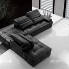 Primo - Black Sectional Sofa