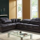 Rodeo Espresso Sectional Sofa