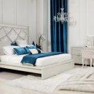 Temptation Modern Platform Bed With Headboard - Juliet