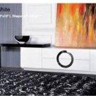 Armani Xavira Modern Crocodile Texture TV Stand