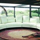 2254 - Modern Bonded Leather Sectional Sofa