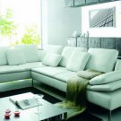 2912 - Modern Bonded Leather Sectional Sofa
