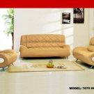 7075 - Modern Bonded Leather Sofa Set