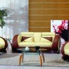 7391 - Modern Bonded Leather Sofa Set