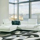 8019 - Modern Bonded Leather Sofa Set