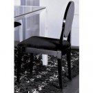 AA018 Modern Black Lacquer Chair