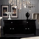 Transitional Black Buffet - AW610-158