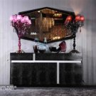AA619 - Black Crocodile Lacquer Buffet