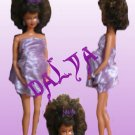 Dalya-OOAK pregnant fashion doll formerly known as Barbie