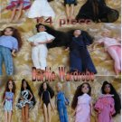 14 piece OOAK Barbie Wardrobe