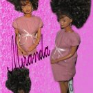 Miranda-OOAK pregnant fashion doll formerly known as Barbie