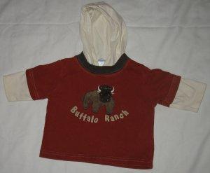 Gymboree Winter Ranch Long Sleeve Shirt, Size 3-6