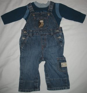 Gymboree Night Forest 2 Piece Outfit, Size 3-6