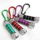 Brand New 5 LED Keychain Flashlight Mini Torch with AA Battery