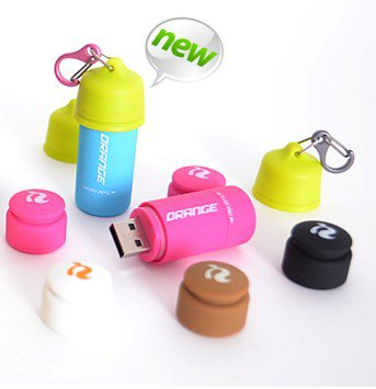 Water Proof Mini-Torch USB Rechargeable Led Flashlight