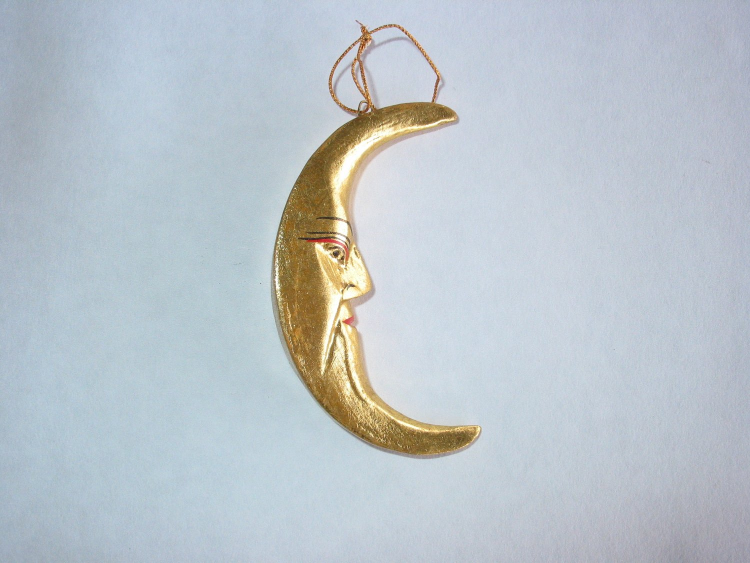 Small Gold Crescent Moon