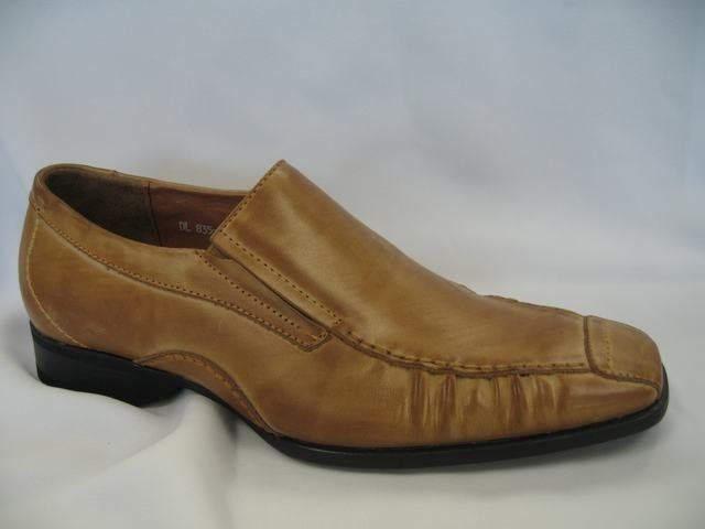 Tan Geuine Leather Dressing Shoes