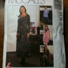 McCall's 2416 Maternity Dress, Top, Jacket, Pull-on Pants or Skirt Size D 12-14-16