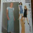 McCall's 2677 Misses' Dress or Jumper in Two Lengths Size B 8-10-12